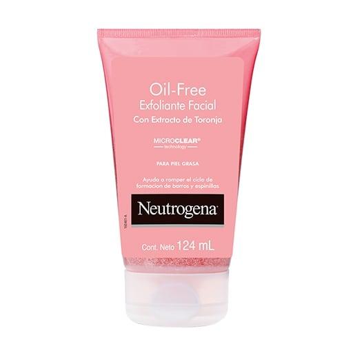 NEUTROGENA® Exfoliante Facial Oil Free con extracto de Toronja